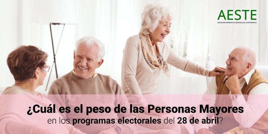 test Twitter Media - 📢¿Cuál es el peso de las #PersonasMayores en los programas electorales del #28A?  @JCuberoHerr analiza las únicas 35 propuestas dirigidas a este colectivo de entre las 1.074 propuestas de los partidos para las #EleccionesGenerales.  ➡https://t.co/PrqP7wvbGP  #ElDebateDecisivo https://t.co/lbG2xJv1gd
