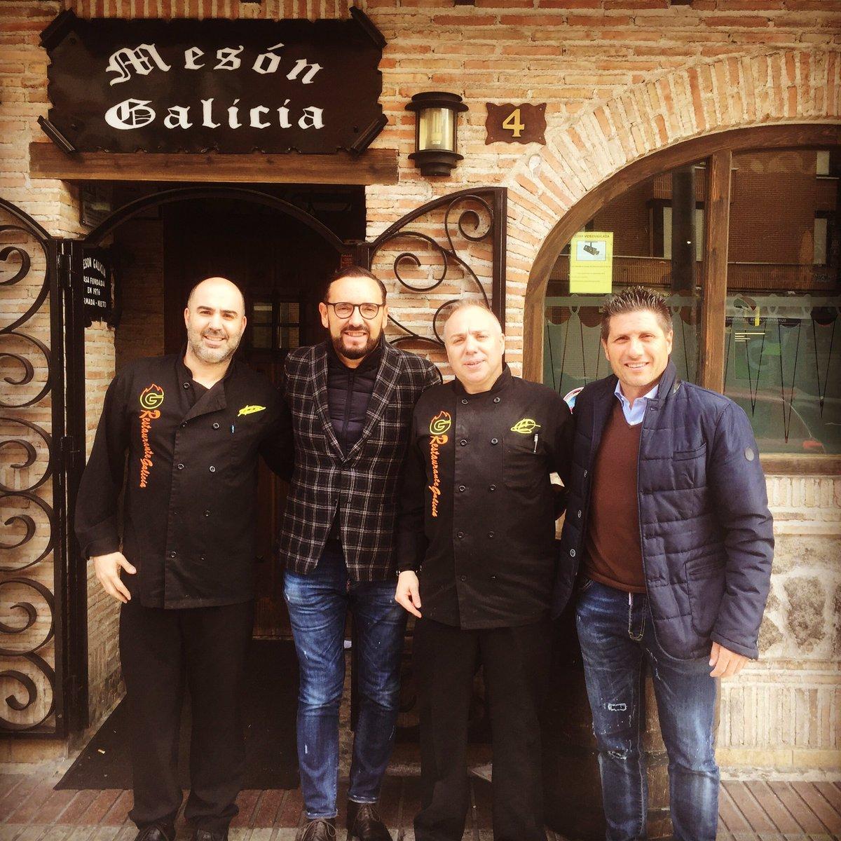 Visita de los técnicos de moda de nuestro fútbol Getafe c.f           José Bordalás  y Nacho Fernández https://t.co/i0XMwqLsgY