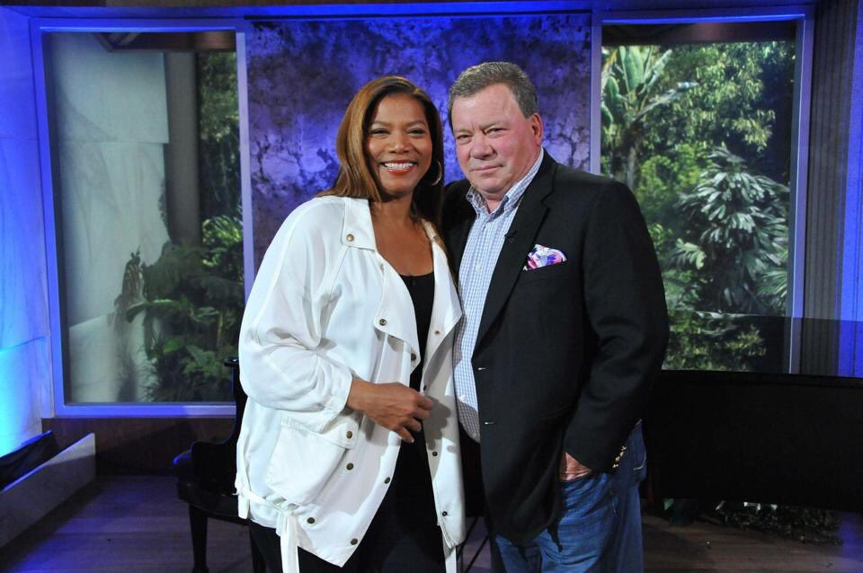 RT @WilliamShatner: @IAMQUEENLATIFAH 5 years ago today! ???? https://t.co/80yrVORJ7O