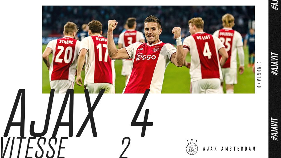 test Twitter Media - 90+4. ANOTHER W. ✌️  #ajavit https://t.co/NDb0C5ky18