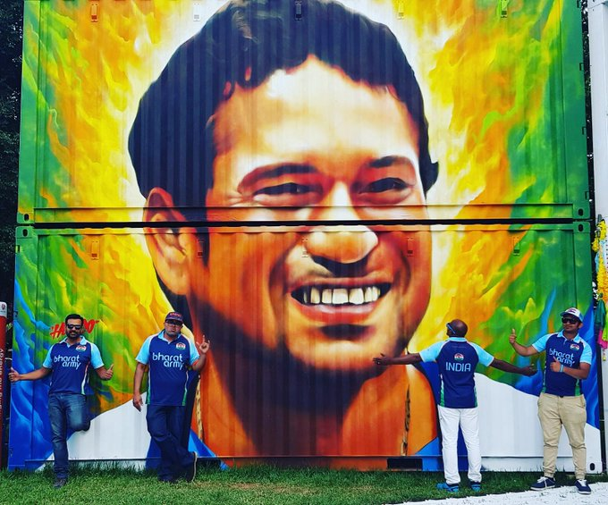 Happy Birthday to our little master Sachin Tendulkar from your Bharat Army!