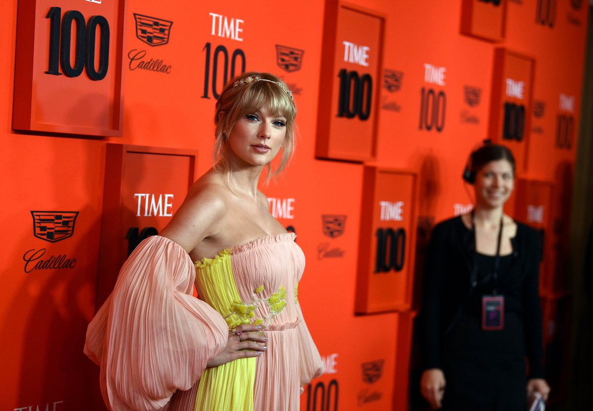 test Twitter Media - Days away from 4/26 and Taylor Swift is pretty in pastel at #TIME100 https://t.co/VrtPkepbTI https://t.co/9AMlPdH2U6