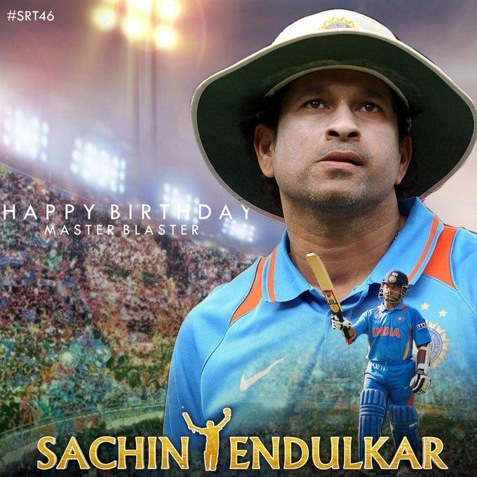 Happy Birthday the god of the cricket...