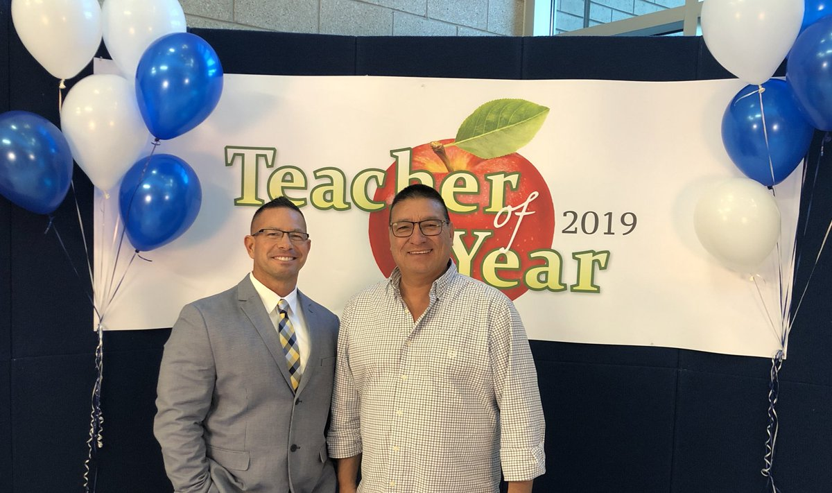 test Twitter Media - Excited to cheer on our teachers at the @canyonsdistrict Teacher of the Year Awards night with the @CSDedFoundation. Congratulations to @AltaHighSchool's robotics teacher, Mr Ron Strohm! https://t.co/kOVcGMQZMH