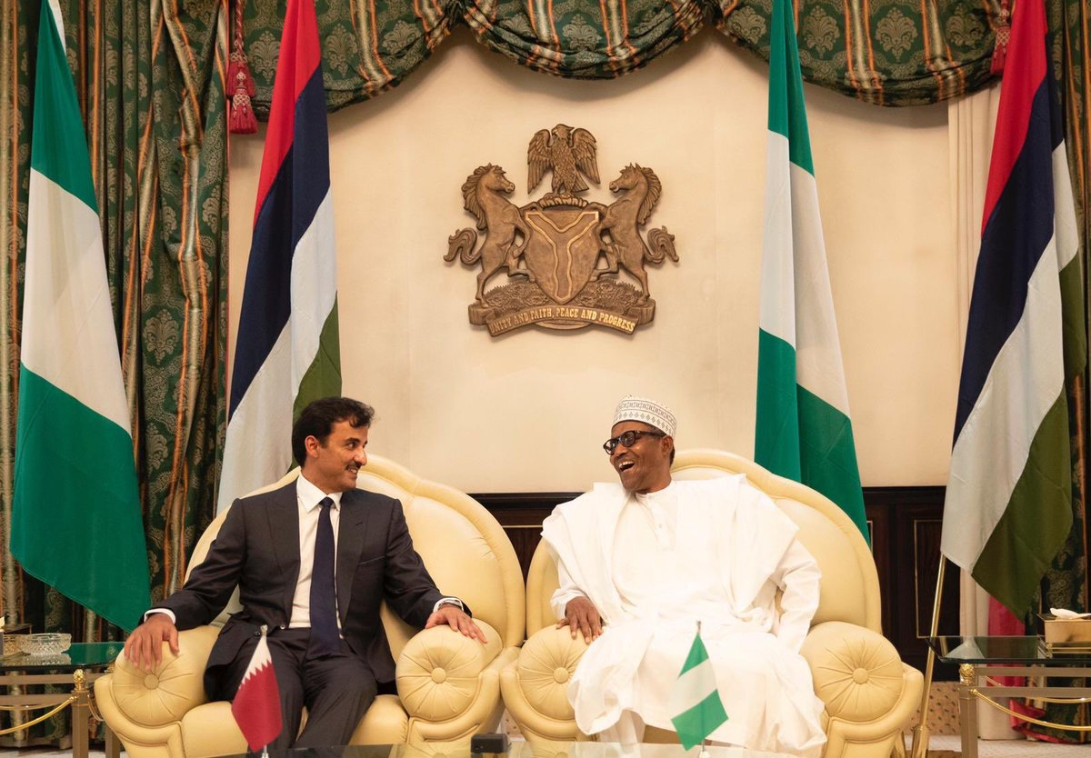 test Twitter Media - HH @TamimBinHamad visit to #Nigeria comes as part of Doha's efforts to strengthen relations with growing economies in Africa. A number of cooperation and partnership projects were agreed during the visit in a range of vital fields. https://t.co/FGP1rxMldc