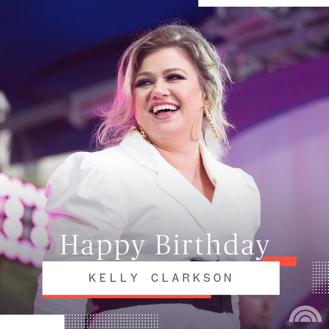 Happy birthday to our friend Kelly Clarkson!