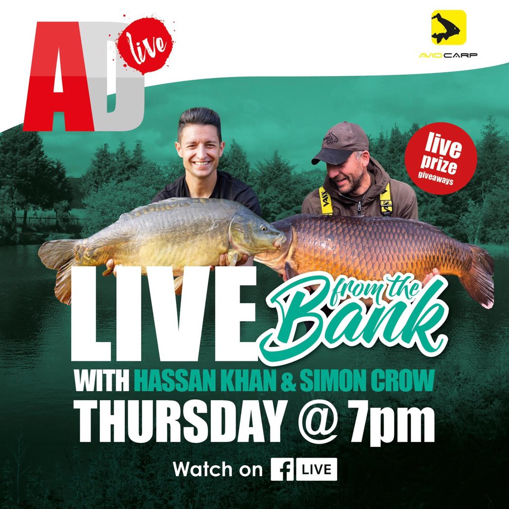 Tomorrow 7pm, Angling Direct live 👍 #carp<b>Fishing</b> https://t.co/sRjNzjbPp1