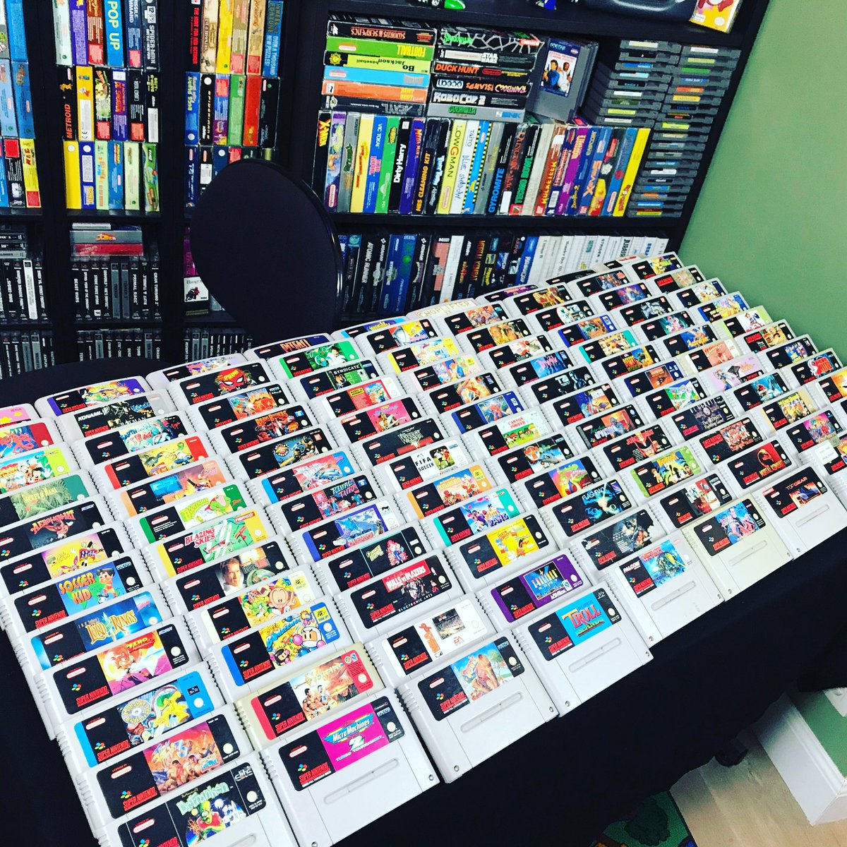 test Twitter Media - RT @edsretrogeekout: Games, games, games! #snes #snesclassic #snesgames #supernintendo #retrogaming #retrogames #edsretrogeekout #nineties #nostalgia #collector https://t.co/ISNLBubBZh