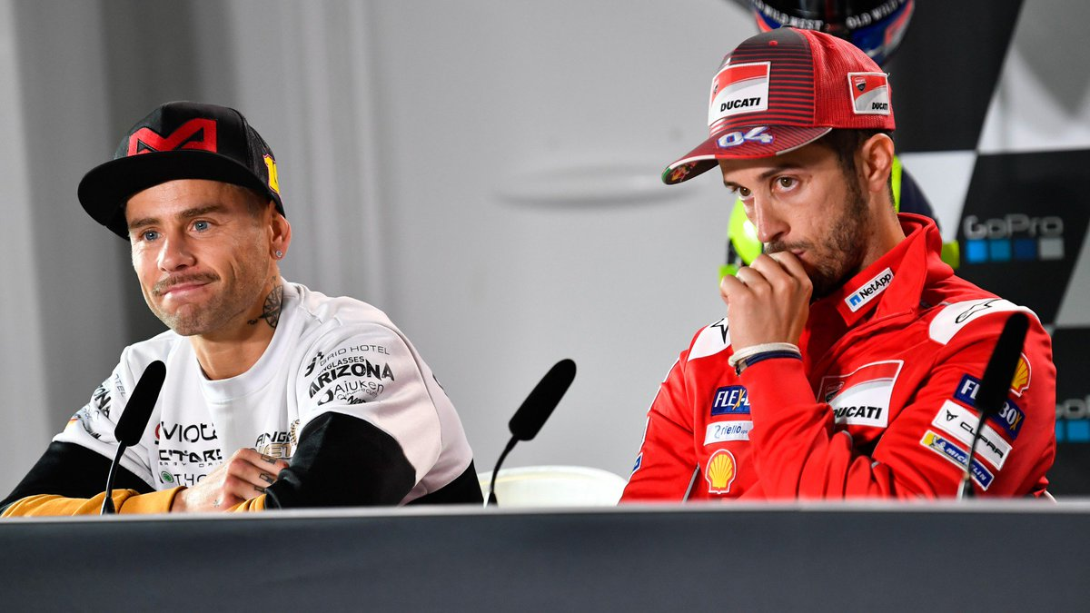 "test Twitter Media - 👉 @AndreaDovizioso "" @19Bautista has never realised how strong he actually is""  Speaking with https://t.co/t4FGajN2Vt, the current @MotoGP leader has heaped praise on the Spanish rider's latest performances  📃 IN THE MEDIA 