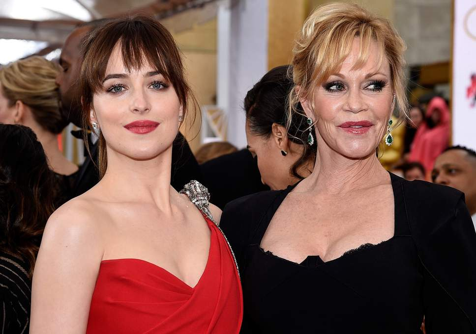 Dakota Johnson and mother Melanie Griffith https://t.co/8lpY9cONVE