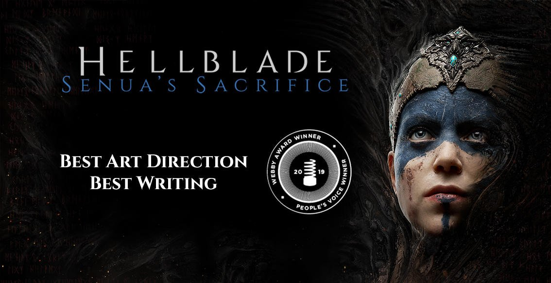 test Twitter Media - We are very proud to have won Best Art Direction in @thewebbyawards, and people's choice for Best Writing! Thank you for voting for #Hellblade.  All Games winners here: https://t.co/oIv0vEZIM5 https://t.co/LbFcLurpDr