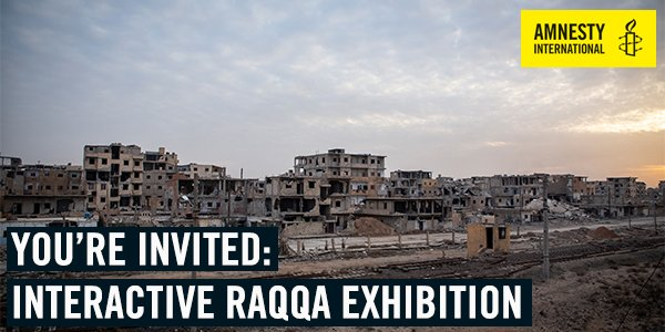 test Twitter Media - Data collected from Syria is being combined with on-the-ground research to bring you a free, interactive exhibition -  War in Raqqa: Rhetoric versus Reality. Get your ticket: https://t.co/ZnUhpDI9na https://t.co/QEND7w7bUm