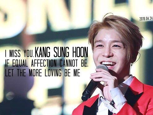 RT @1333enenen: miss you.  Stay Healthy. Be Well.  #강성훈 #KANGSUNGHOON #姜成勋 https://t.co/ceBfCOgQ7n