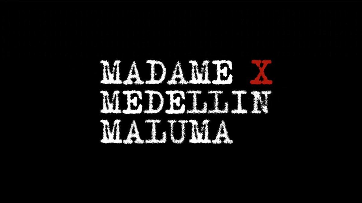 """❌ Watch the """"Medellín"""" video featuring @maluma now! ❌ https://t.co/f0D1gKemCn https://t.co/NKXbQHILKG"""