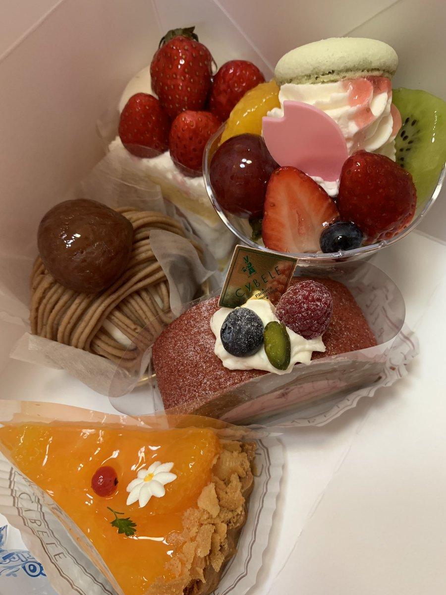 test ツイッターメディア - シベール春の感謝祭にて、ケーキセット購入(*´ω`*) 🍰 #シベール #山形推し #朝ドルチェ https://t.co/gehebehioC