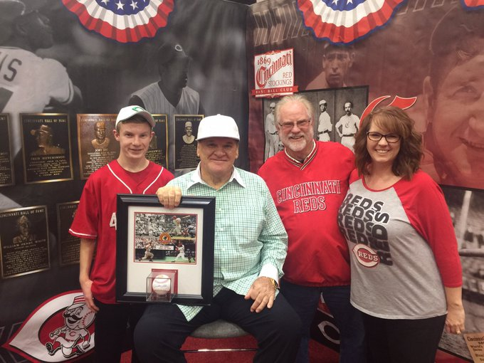 HAPPY BIRTHDAY TO THE HIT KING, PETE ROSE!!!...FROM THE BURKHARDT AND WAGNER FAMILIES IN SOUTH WEBSTER OHIO...