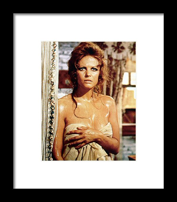 """April 15: Happy 81st birthday to actress Claudia Cardinale(\""""The Pink Panther\"""")"""