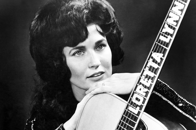To make it in Nashville, you either have to be first, great or different, . Happy 87th birthday to Loretta Lynn!