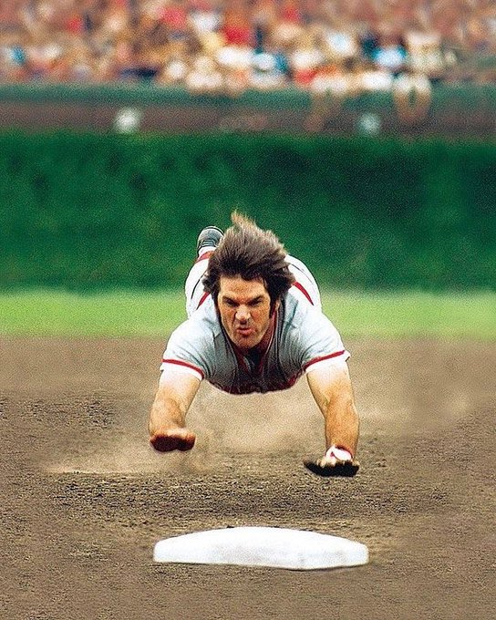 Happy 78th Birthday Pete Rose!