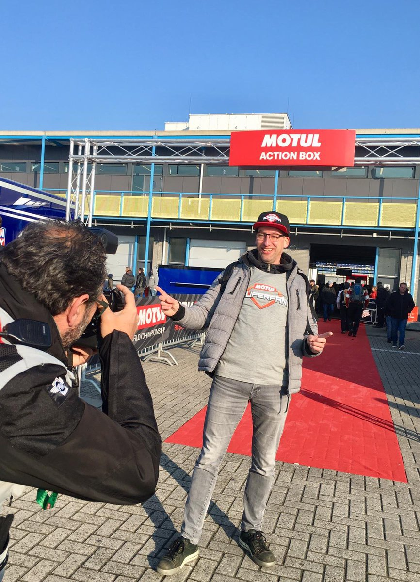 test Twitter Media - The #MotulSuperFan had the best time at the @motul Dutch Round!  Learn from a professional #WorldSBK photographer, meet your idols, share impressions with the mechanics and step into the safety car.   #NLDWorldSBK 🇳🇱  Remember this could be you ⬇️ https://t.co/feklk3vE1e https://t.co/w0o00wvAxI