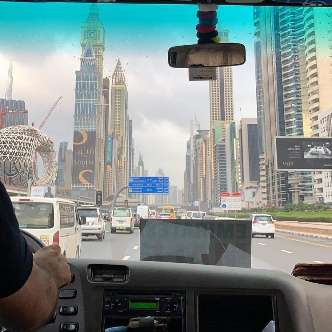 look how pretty dubai is in the morning ☁️ https://t.co/caNXI7CEae