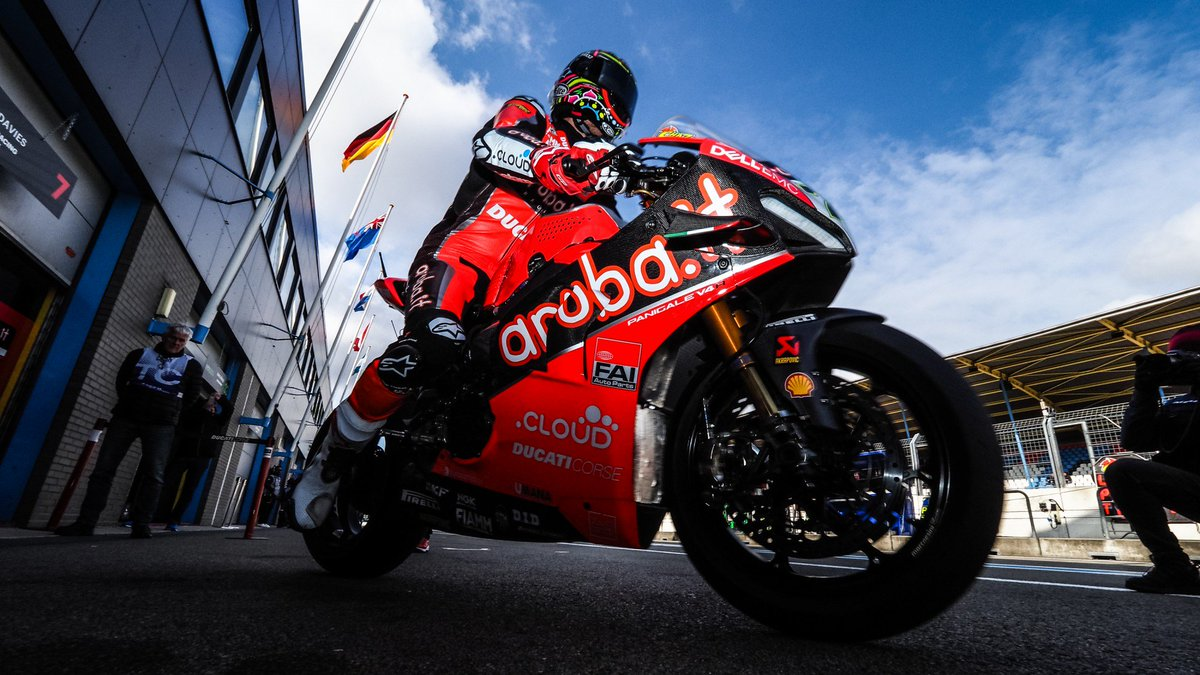 "test Twitter Media - 👉 @chazdavies7 missing out on Assen podium ""somewhat a disappointment""  The three-time #WorldSBK runner-up remains upbeat despite being unable to climb on the podium at Assen!  #NLDWorldSBK 🇳🇱  📃 