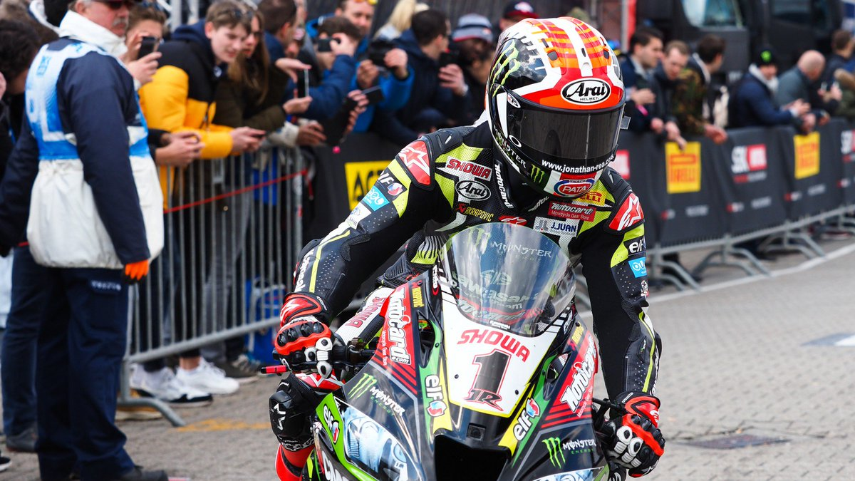 test Twitter Media - Humorous @jonathanrea reflects on exciting Assen weekend!  The reigning four-time #WorldSBK Champ discusses his lunch and the impact it had on his Race 2 start, as well as how he tried to fight with Bautista!  #NLDWorldSBK 🇳🇱  📃 | #WorldSBK https://t.co/j0UWXovizv https://t.co/eYrbtdKgT9