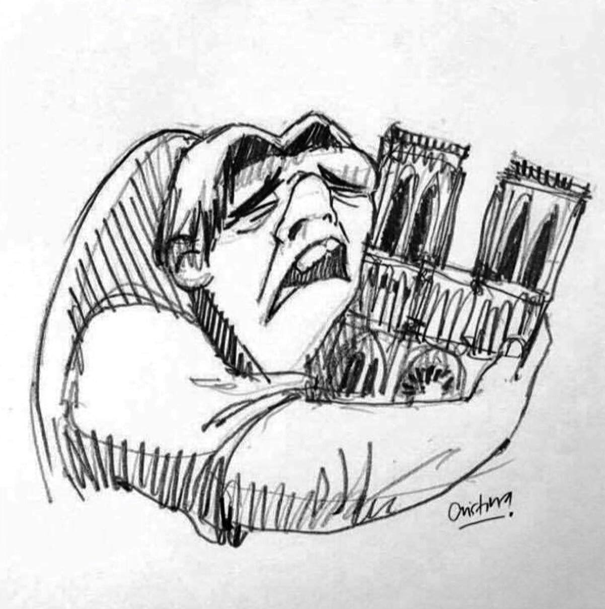 Mon dieu! C'est un désastre. Juste triste. 😔 #NotreDame #paris https://t.co/Orsgje0KwF