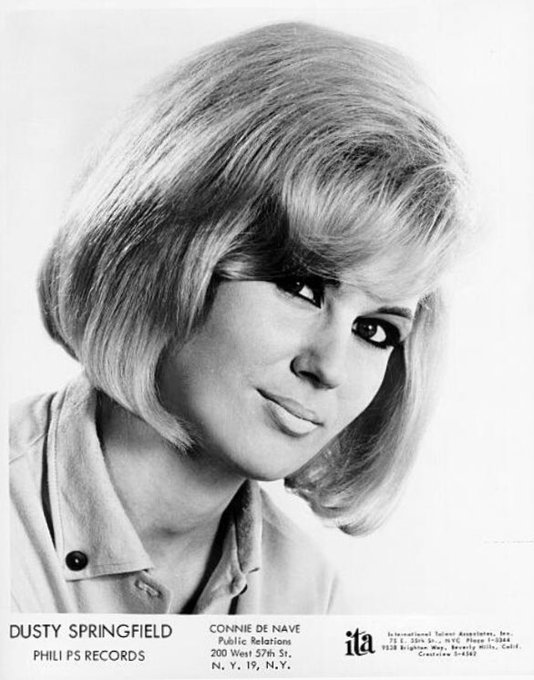 Happy Birthday Dusty Springfield (April 16, 1939 - March 2, 1999) English pop singer and record producer.