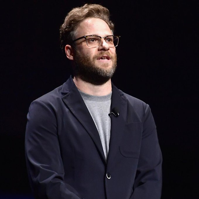 Happy CinemaCon birthday greetings out to Seth Rogen!