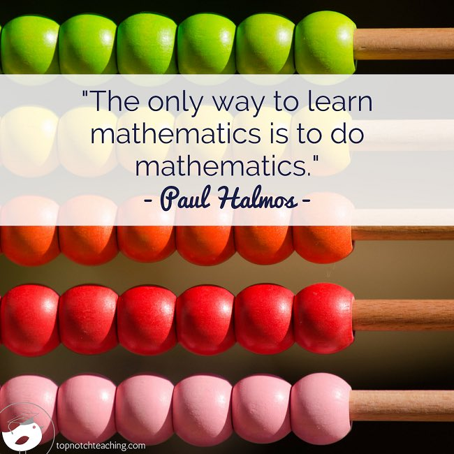 test Twitter Media - The only way to learn mathematics is to do mathematics. 🙌🏼  Source: https://t.co/dTRmKTqItC • #everyonecanlearnmath #math #maths #mathlove #growthmindset #mathmindset https://t.co/DBnBLkNmh9