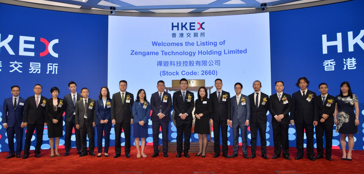 Welcome to Zengame Technology Holding Limited (2660) which listed on the Main Board today. https://t.co/HyqOPlSAhp