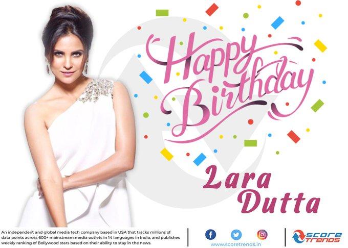 Score Trends wishes Lara Dutta a Happy Birthday!!