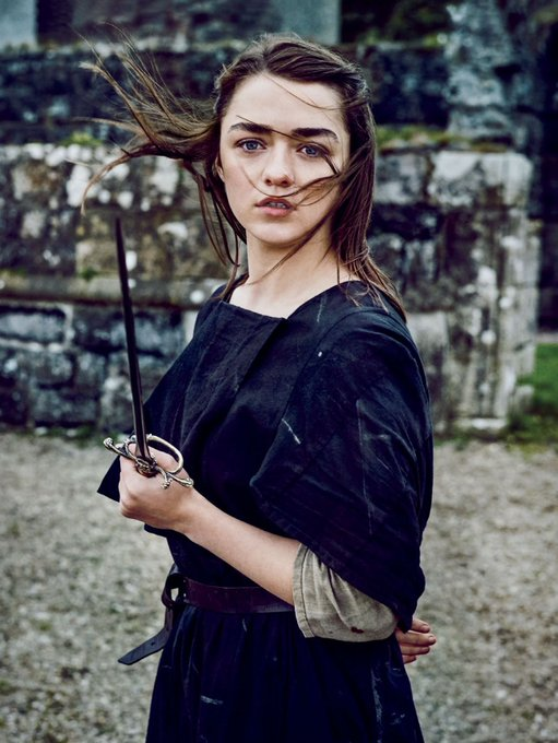 Happy Bday MAISIE WILLIAMS aka Arya Stark..