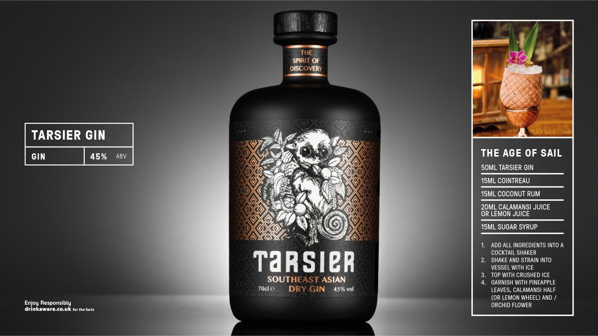 Inspired by Southeast Asian cuisine, @tarsierspirit is a citrus gin with aromatic & savoury mid-notes and a long peppery finish. Enjoy neat or with a splash of tonic and a slice of lime & ginger.#asia #gin Download our new supplement https://t.co/D6UtosXTBX https://t.co/WsqKrvrSLD