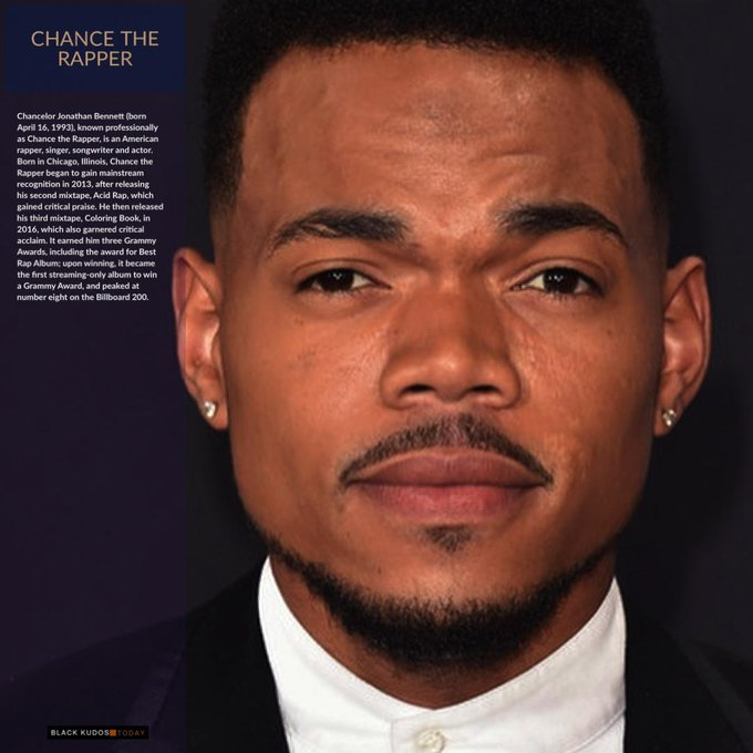 Happy Birthday to Chance the Rapper.