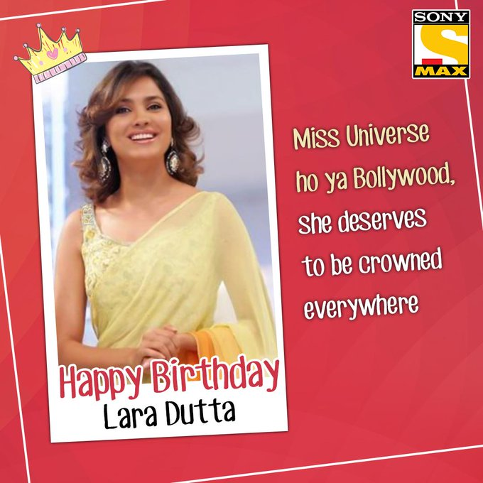 Lara Dutta, your re our love. Happy Birthday to you.