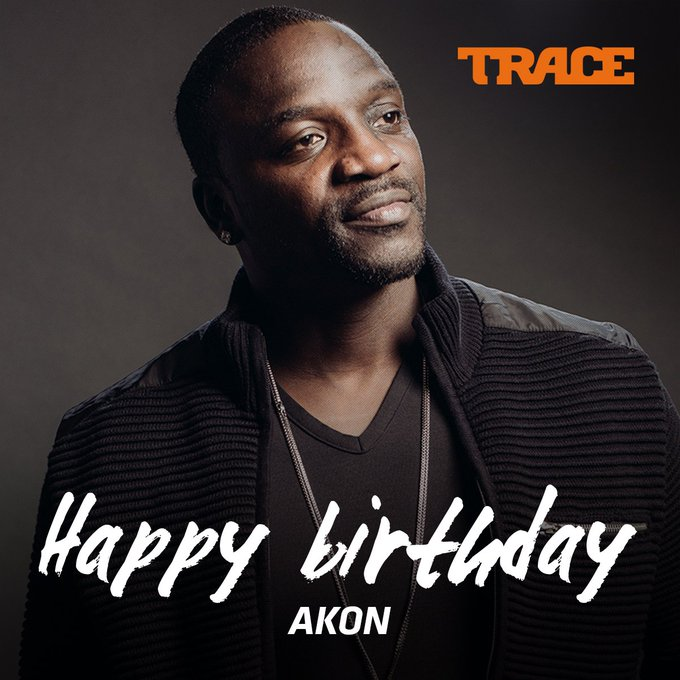 Konvict Music! Happy Birthday to Senegalese singer, entrepreneur and philanthropist Akon