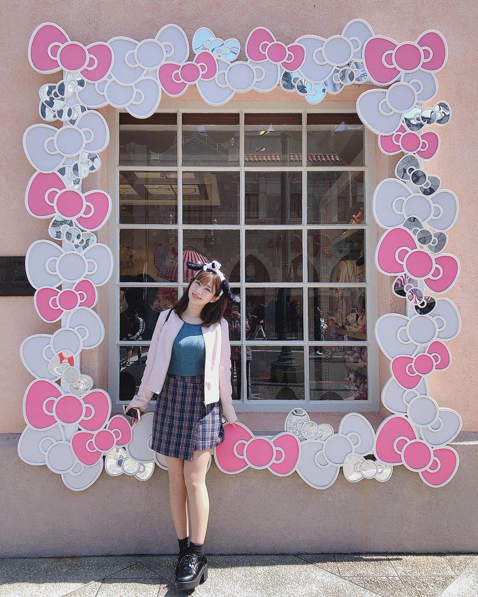 test ツイッターメディア - 【石岡真衣 Instagram】ishiokamai: . キティちゃんになりたいと思ってる、わたしはあらさーです🥺🙈 . #ユニバーサルスタジオジャパン #ユニバ #キティちゃん https://t.co/KUXpbRyVgg #マスカッツ #新1期 https://t.co/ceXcbOAWvw