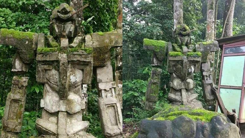 test ツイッターメディア - 10000RT:【話題】どう見てもガンダムな石像がインドネシアで発見される 地元民は数百年前のものと証言? https://t.co/7yPegMwSEG  びっしりとコケが生えており、岩と融合しているかのような見た目となっています。 https://t.co/G9ymKWfr4n