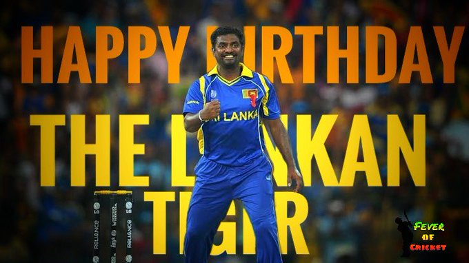 Happy birthday  the only player who takes 800test wickets
