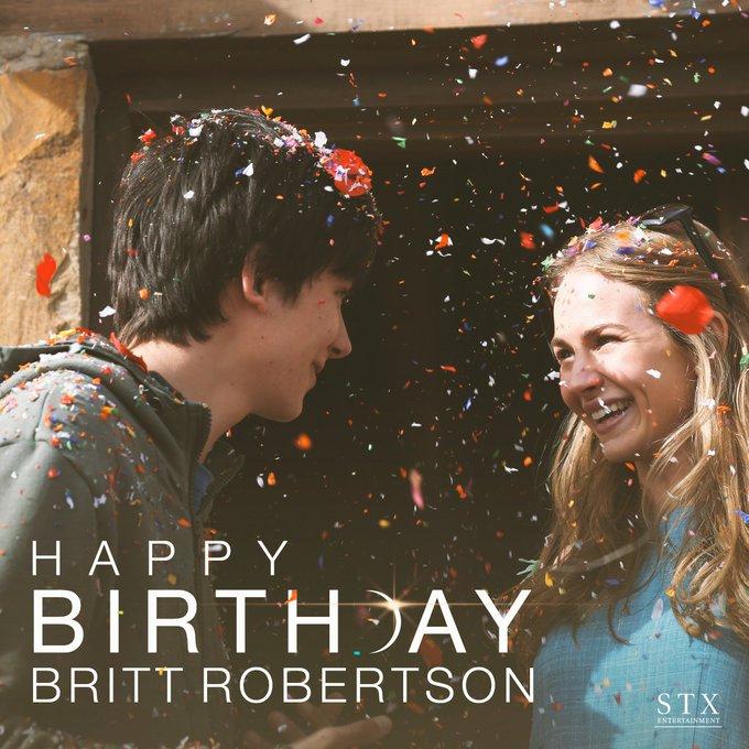 Happy birthday to the lovely Britt Robertson!