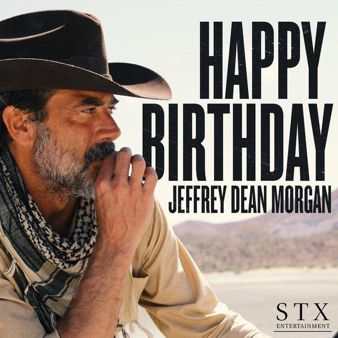 Happy birthday Jeffrey Dean Morgan!
