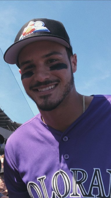 Happy birthday to the one n only nolan arenado it s his day only !