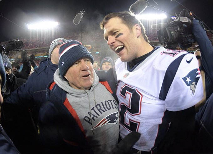 Tom Brady wished Bill Belichick a happy birthday with a perfect message post: