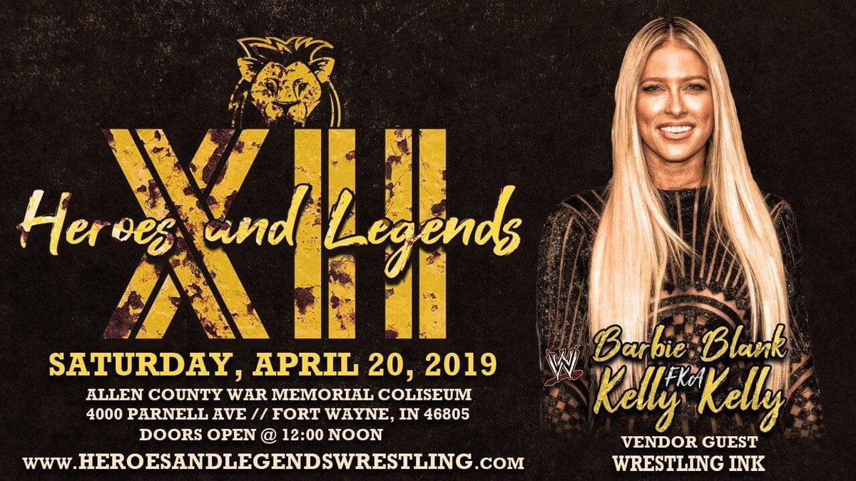 See you all this Saturday! @heroesanlegends https://t.co/Nw6fW2caqD