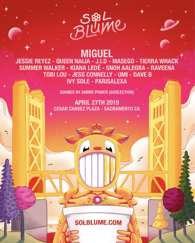 Sacramento! Excited for @solblume 🙏🏾 Tickets and more info: https://t.co/vnyLWkRBx4 https://t.co/zMs5yEm74L