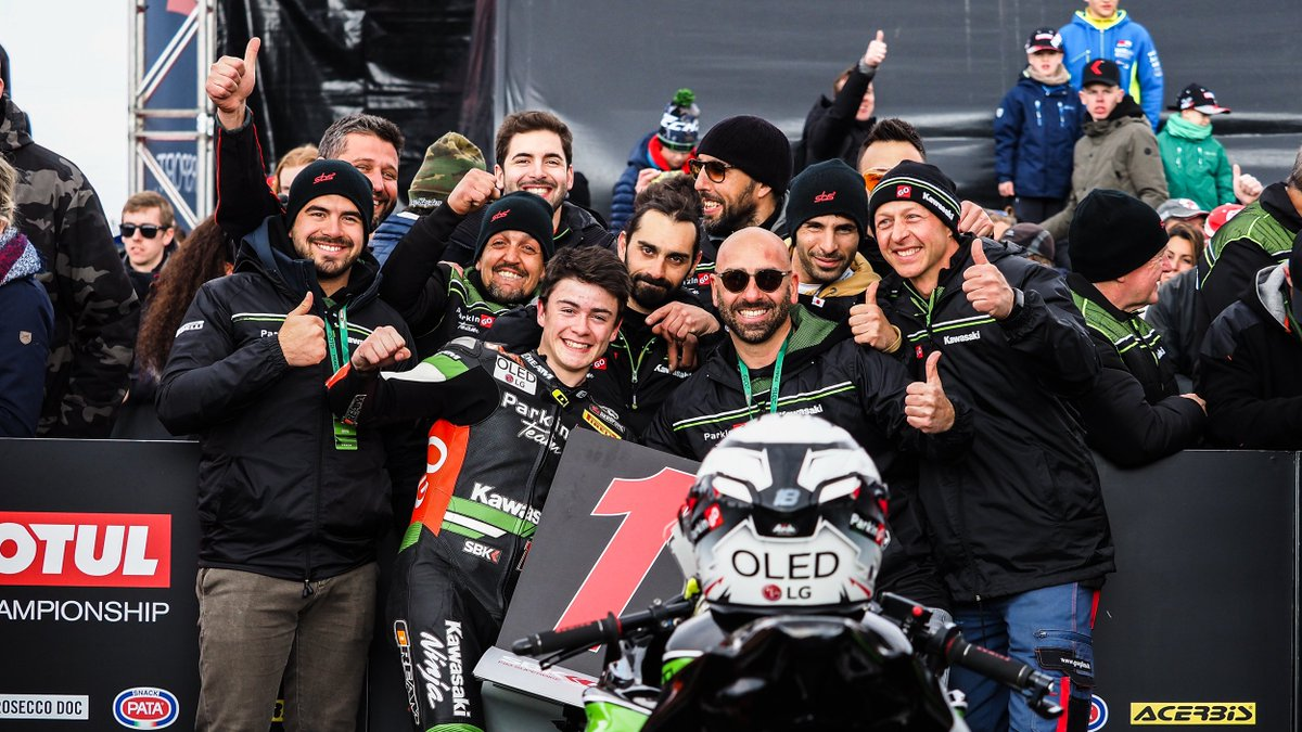 "test Twitter Media - ⚡️Thrilled @Manugasss_18 reflects on ""difficult"" Assen triumph! ✊  The Spanish rider continued his perfect start to the season in WorldSSP300 with another victory 🏆  📃