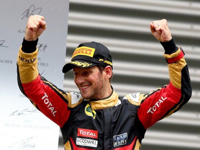 33rd birthday to Romain Grosjean!
