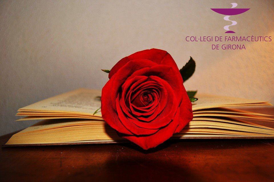 test Twitter Media - El Col·legi de Farmacèutics de Girona us desitja un Feliç Sant Jordi! 🌹📚 #roses #llibres #santjordi2019 https://t.co/Dwxmun0cLr